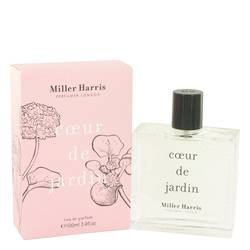 Coeur De Jardin Perfume by Miller Harris, 3.4 oz Eau De Parfum Spray for Women