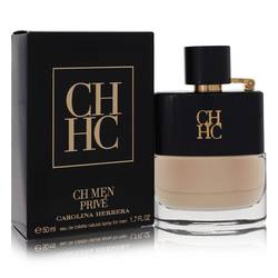 Ch Prive Cologne by Carolina Herrera, 50 ml Eau De Toilette Spray for Men