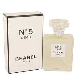 Chanel No. 5 L'eau Perfume by Chanel, 3.4 oz Eau De Toilette Spray for Women