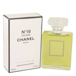 Chanel 19 Poudre Perfume by Chanel, 100 ml Eau De Parfum Spray for Women