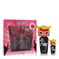 Kokeshi Cheery Perfume by Jeremy Scott Kokeshi, 1.7 oz Eau De Toilette Spray + Free Key Ring Mini EDT Spray for Women