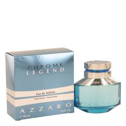 Chrome Legend Cologne by Azzaro 1.4 oz Eau De Toilette Spray