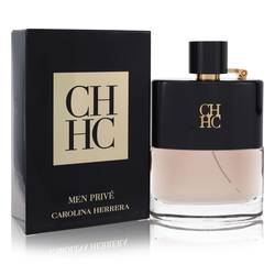 Ch Prive Cologne by Carolina Herrera, 100 ml Eau De Toilette Spray for Men