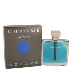 Chrome Intense Cologne by Azzaro, 3.4 oz EDT Spray for Men