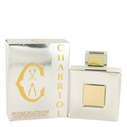 Charriol Royal Platinum Cologne by Charriol, 3.4 oz Eau De Parfum Spray for Men