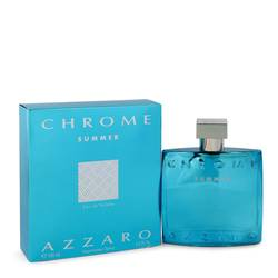 Chrome Summer Cologne by Azzaro 3.4 oz Eau De Toilette Spray (Limited edition 2012)