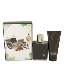 Ch Carolina Herrera Cologne by Carolina Herrera -- Gift Set - 3.4 oz Eau De Toilette Spray + 3.4 oz After Shave Balm