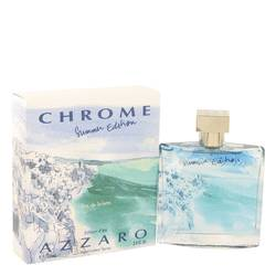 Chrome Summer Cologne by Azzaro, 3.4 oz EDT Spray (Limited Edition 2013) for Men