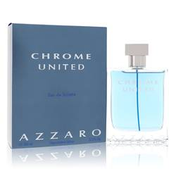 Chrome United Cologne by Azzaro, 3.4 oz EDT Spray for Men