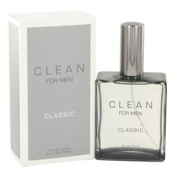 Clean Men Cologne by Clean, 3.4 oz Eau De Toilette Spray for Men