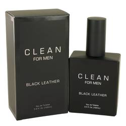Clean Black Leather Cologne by Clean, 3.4 oz Eau De Toilette Spray for Men