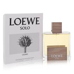 Solo Loewe Cedro Cologne by Loewe, 3.4 oz Eau De Toilette Spray for Men