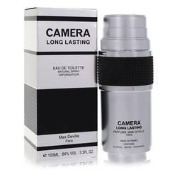 Camera Long Lasting Cologne by Max Deville, 100 ml Eau De Toilette Spray for Men