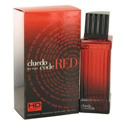 Cluedo Code Red Cologne by Cluedo, 100 ml Eau De Toilette Spray for Men