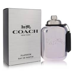 Coach Platinum Cologne by Coach, 3.3 oz Eau De Parfum Spray for Men