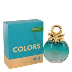 Colors Blue Perfume by Benetton, 80 ml Eau De Toilette Spray for Women