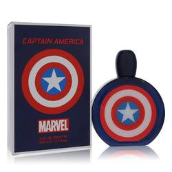 Image of Captain America Cologne by Marvel, 3.4 oz Eau De Toilette Spray for Men