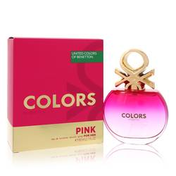 Colors Pink Perfume by Benetton, 80 ml Eau De Toilette Spray for Women