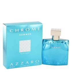 Chrome Summer Cologne by Azzaro, 1.7 oz EDT Spray for Men
