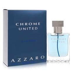 Chrome United Cologne by Azzaro, 1 oz Eau De Toilette Spray for Men