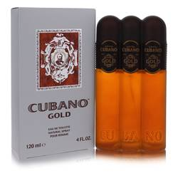 Cubano Gold Cologne by Cubano 4 oz Eau De Toilette Spray