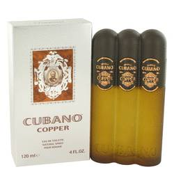 Cubano Copper Cologne by Cubano, 4 oz Eau De Toilette Spray for Men