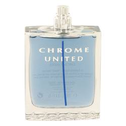 Chrome United Cologne by Azzaro 3.4 oz Eau De Toilette Spray (Tester)