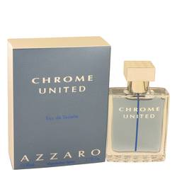 Chrome United Cologne by Azzaro 1.7 oz Eau De Toilette Spray