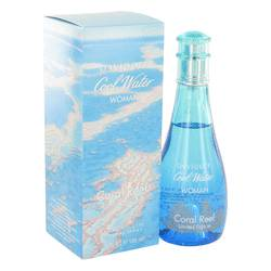 Cool Water Coral Reef Perfume by Davidoff 3.4 oz Eau De Toilette Spray (Limited Edition)