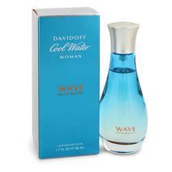 Cool Water Wave Perfume by Davidoff 1.7 oz Eau De Toilette Spray