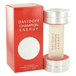 Davidoff Champion Energy Cologne by Davidoff, 1.7 oz Eau De Toilette Spray for Men
