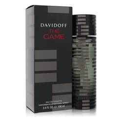 The Game Cologne by Davidoff, 3.4 oz Eau De Toilette Spray for Men