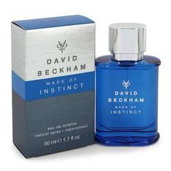 David Beckham Made Of Instinct Cologne by David Beckham, 50 ml Eau De Toilette Spray for Men