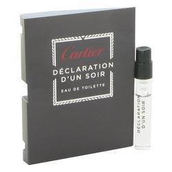 Declaration D'un Soir Cologne by Cartier 0.05 oz Vial (sample)