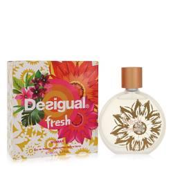 Desigual Fresh Perfume by Desigual, 3.4 oz Eau De Toilette Spray for Women