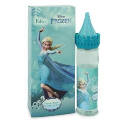 Disney Frozen Elsa Perfume by Disney, 3.4 oz Eau De Toilette Spray (Castle Packaging) for Women