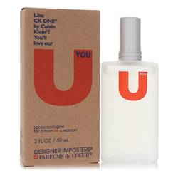 Designer Imposters U You Perfume by Parfums De Coeur, 2 oz Cologne Spray (Unisex) for Women