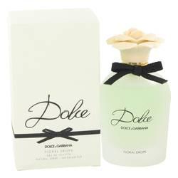 Dolce Floral Drops Perfume by Dolce & Gabbana, 2.5 oz Eau De Toilette Spray for Women