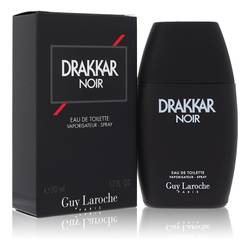 Drakkar Noir Cologne by Guy Laroche 1.7 oz Eau De Toilette Spray