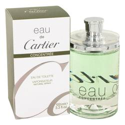 Eau De Cartier Cologne by Cartier 3.4 oz Eau De Toilette Spray Concentree (Unisex)