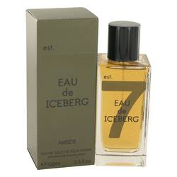Eau De Iceberg Amber Cologne by Iceberg, 3.4 oz Eau De Toilette Spray for Men