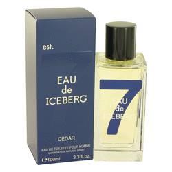 Eau De Iceberg Cedar Cologne by Iceberg, 100 ml Eau De Toilette Spray for Men
