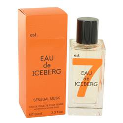 Eau De Iceberg Sensual Musk Perfume by Iceberg, 100 ml Eau De Toilette Spray for Women