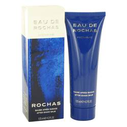 Eau De Rochas Cologne by Rochas 4.1 oz After Shave Balm