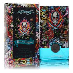 Ed Hardy Hearts & Daggers Cologne by Christian Audigier, 3.4 oz Eau De Toilette Spray for Men