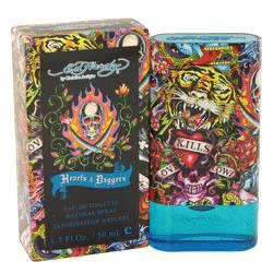 Ed Hardy Hearts & Daggers Cologne by Christian Audigier, 50 ml Eau De Toilette Spray for Men