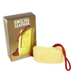 English Leather Cologne by Dana 6 oz Soap on a rope