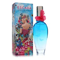 Escada Turquoise Summer Perfume by Escada, 50 ml Eau De Toilette Spray for Women