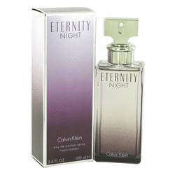 Eternity Night Perfume by Calvin Klein, 3.4 oz EDP Spray (Limited Edition) for Women