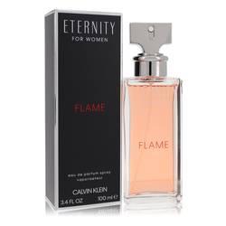 Eternity Flame Perfume by Calvin Klein, 3.4 oz Eau De Parfum Spray for Women